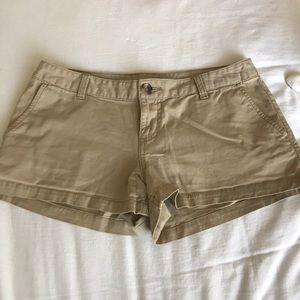 Women's Mossimo khaki shorts